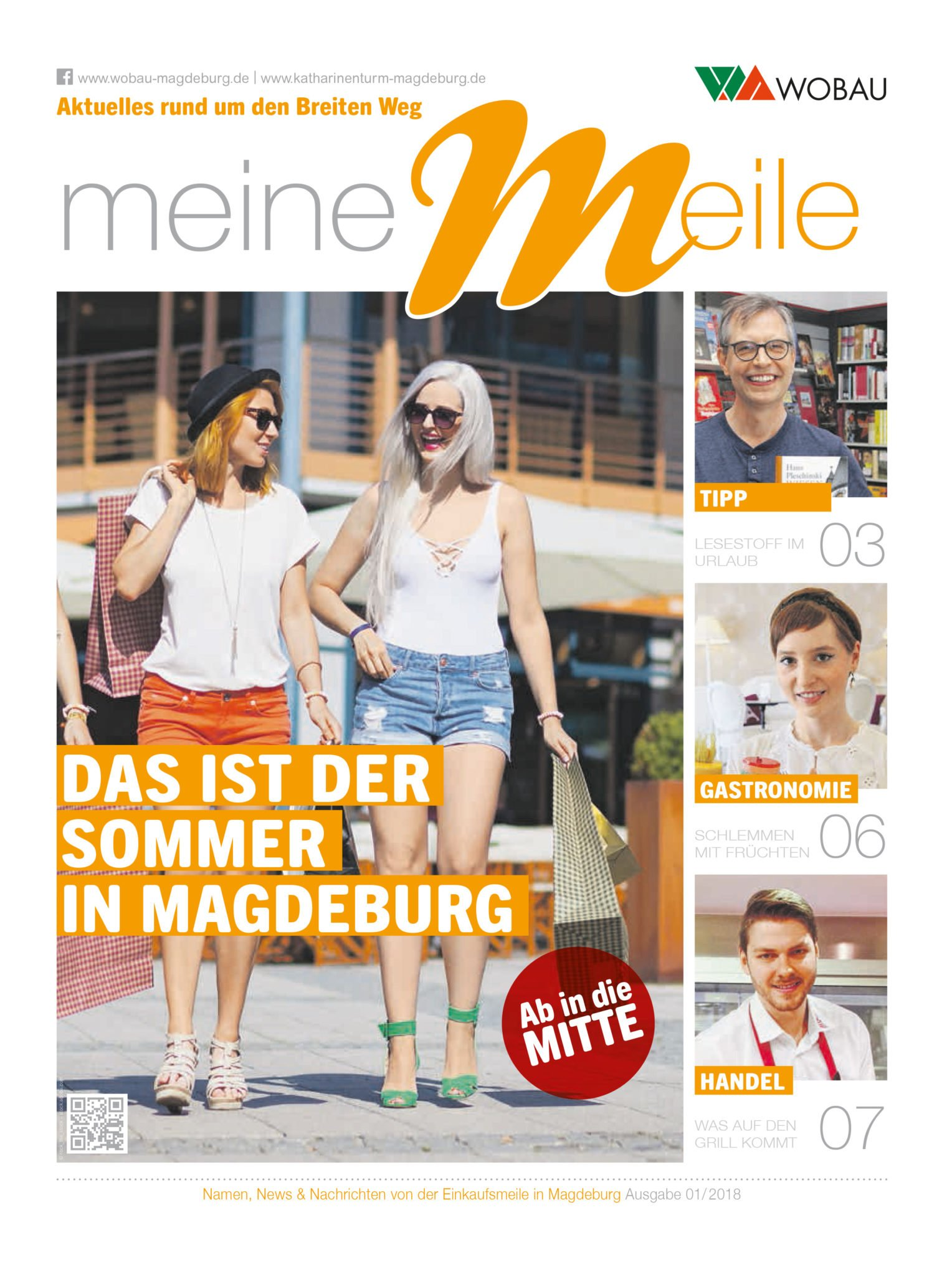 Wobau meine meile Magazin Mademoiselle Cupcake